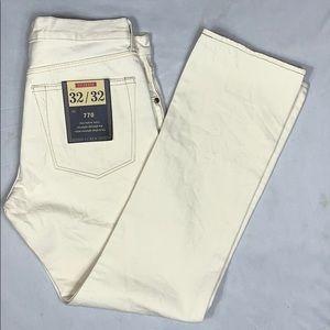 Men's J. Crew 770 Selvedge Denim Jeans 32/32 NWT